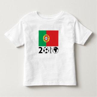 Coupe du monde du Portugal 2010 T-shirt