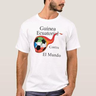 Coupe du monde - Guinée équatoriale contre. Le T-shirt