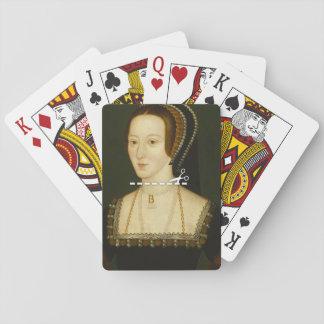 Coupe ici - Anne Boleyn Jeux De Cartes