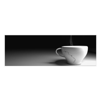 Coupe of coffee tirage photo