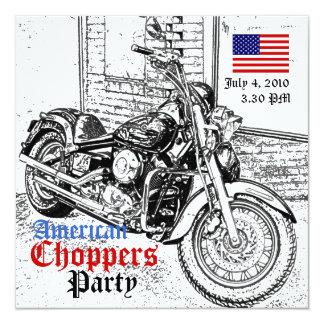Couperets invitation américaine de partie du 4