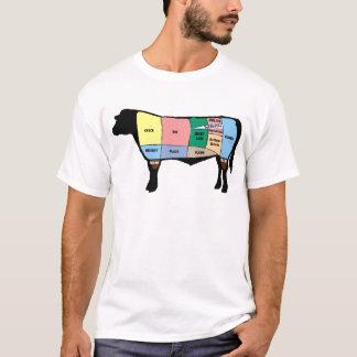 Coupes de boeuf t-shirt