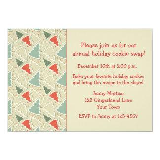 Coupeurs de biscuit, invitation d'échange de