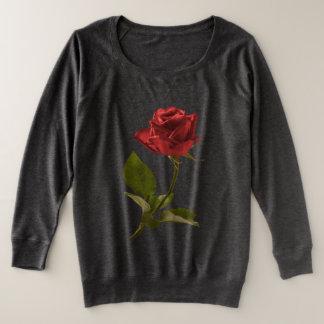 Coupez la photographie florale/citation de rose