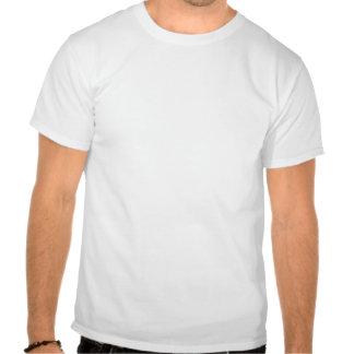 Coupez l'île, les paumes et le Sun de papier T-shirt