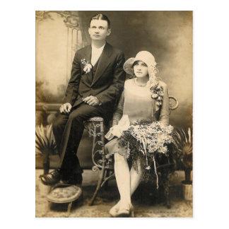 COUPLES #56 DE MARIAGE CARTE POSTALE