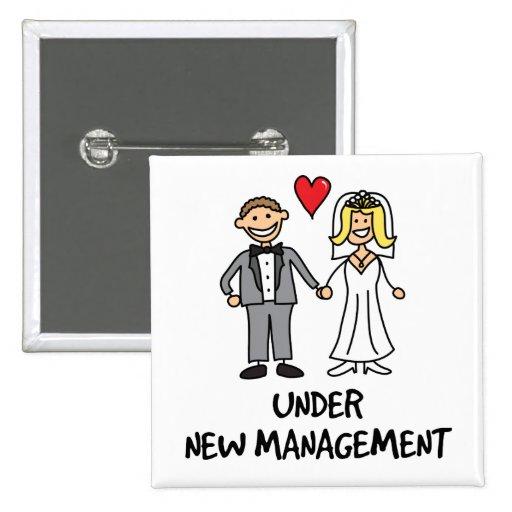 Couples de mariage - sous la nouvelle gestion badges avec agrafe