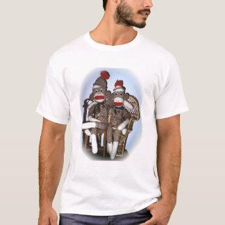 Couples de singe de chaussette t-shirt