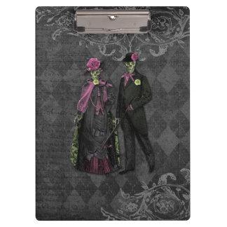 Couples de squelette de Halloween
