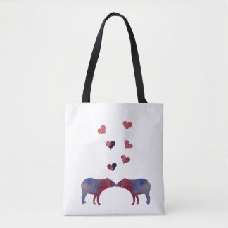 Couples de tapir sac