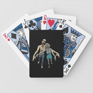 Couples de zombi cartes à jouer