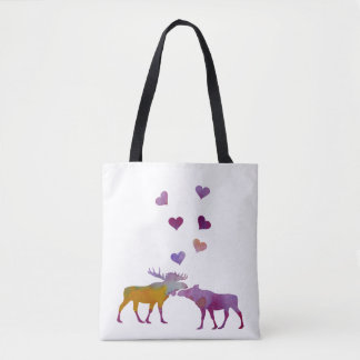 Couples d'orignaux sac