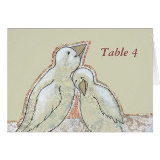 Couples parfaits adorables de carte d'endroit de t