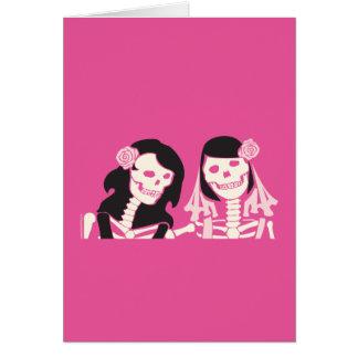 Couples squelettiques femelles cartes