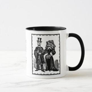 Couples squelettiques - tasse