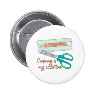 Couponing est ma dépendance badges avec agrafe