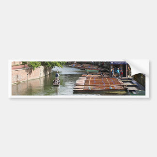 Coups de volée à Cambridge, Angleterre Autocollant De Voiture