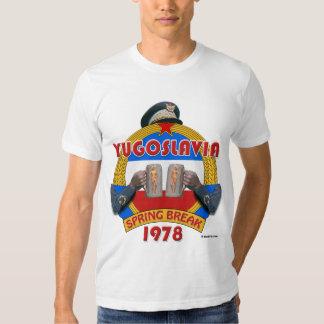 Coupure de ressort de la Yougoslavie 1978 T-shirt