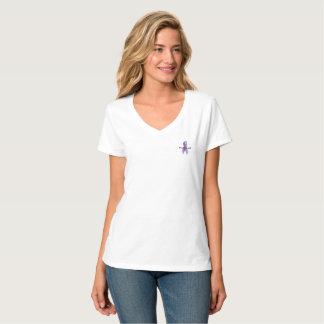 Coupure de violence familiale la chemise de cycle t-shirt