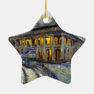 cour de Van Gogh Hong Kong Ornement Étoile En Céramique