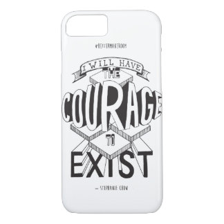 Courage d'exister coque iphone