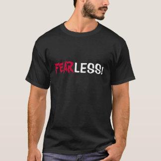 COURAGEUX ! T-shirt avec d'écriture sainte de vers