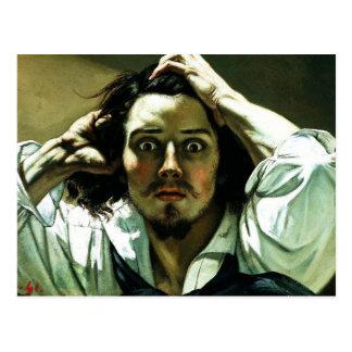 Courbet la carte postale désespérée d'homme