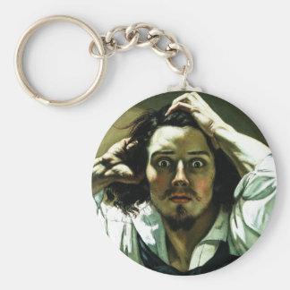 Courbet le porte - clé désespéré d'homme porte-clés