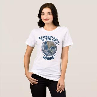 """COURBURE ? 8"""" PAR ² DE MILLE - OÙ ? T-shirt"""