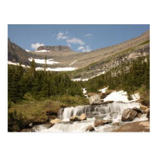 Courbure de Siyeh - glacier NP Carte Postale