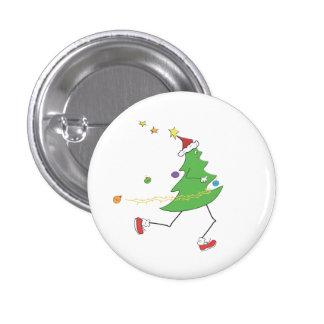 Coureur d'arbre de Noël Badge
