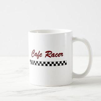 Coureur de café mug blanc