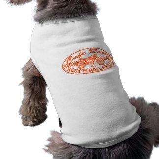 Coureur de café t-shirt pour chien