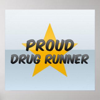 Coureur fier de drogue posters
