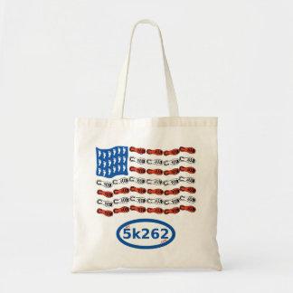 Coureur patriotique (drapeau des USA avec des Sac De Toile