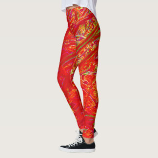 Coureurs rouges leggings