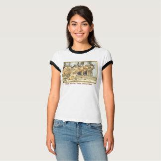 Courez avec les loups, photo du grand paquet de t-shirt