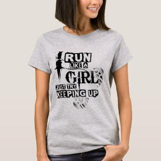 Courez comme une fille - marathon de Londres T-shirt