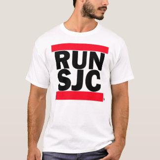 COUREZ la pièce en t blanche de SJC T-shirt