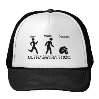 Courez le désespoir de promenade casquettes