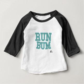 Courez Teal sans valeur T-shirt Pour Bébé