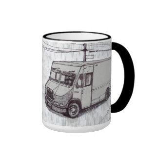 Courier Van Mug À Café