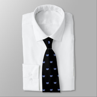 Couronne bleue de la Mlle Etats-Unis et cravate