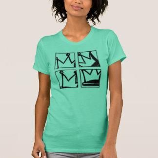 couronne de quadruple t-shirt