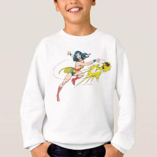 Couronne de WomanThrows de merveille Sweatshirt