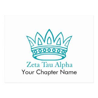 Couronne de ZTA avec ZTA Cartes Postales