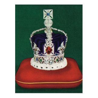 Couronne impériale d'état de l'Angleterre, Cartes Postales
