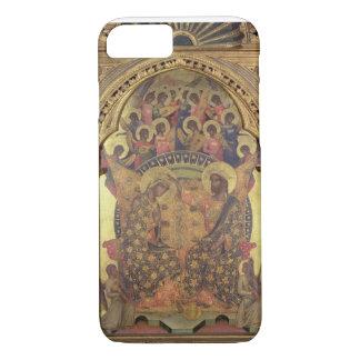 Couronnement de la Vierge (détail du polyptych) Coque iPhone 8/7