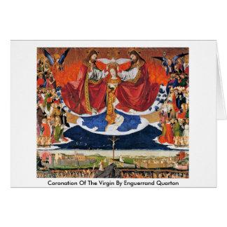 Couronnement de la Vierge par Enguerrand Quarton Cartes