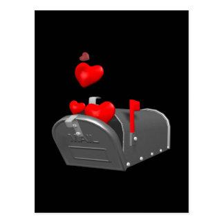 Courrier d'amour cartes postales